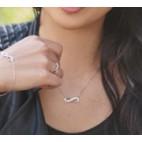 Bransoletka srebrna Nieskończoność - Modna biżuteria srebrna