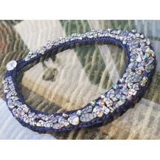 Ekskluzywna biżuteria autorska z opalami i kryształami Swarovski