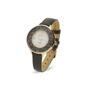 Swarovski biżuteria - zegarek damski ORISO BLACK