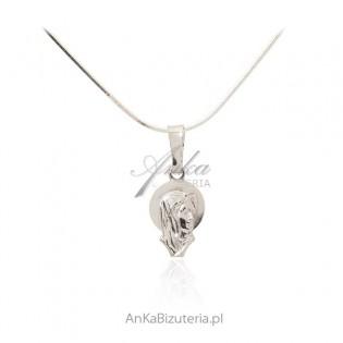 Medali srebrny Matka Boska Fatimska