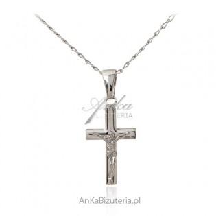 Srebrny krzyżyk - klasyczny