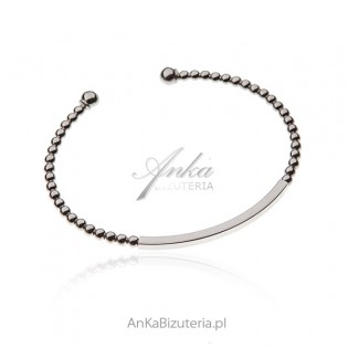 Srebrna bransoletka Klasyczna włoska biżuteria