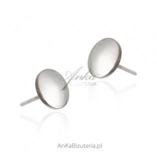 Kolczyki srebrne PINEZKI - oryginalna biżuteria włoska