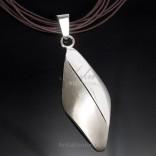 WISIOR srebrny duży. Klasyczna biżuteria srebrna