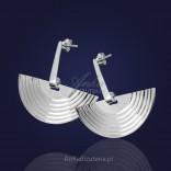 Kolczyki srebrne Spacer Po Księżycu