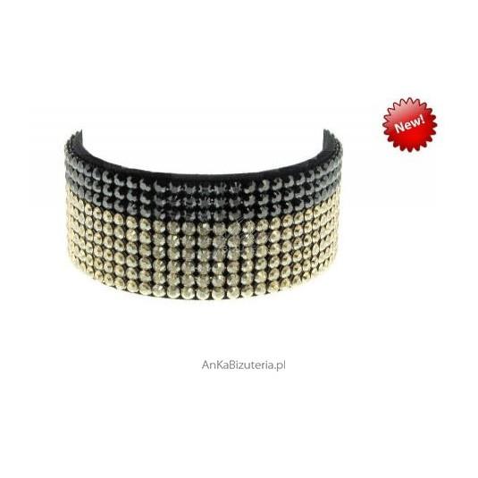 Bransoleta wykonana z ekskluzywnych kryształów SWAROVSKI ELEMENTS