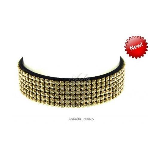 Efektowna bransoleta wykonana z ekskluzywnych kryształów SWAROVSKI ELEMENTS
