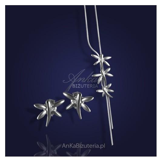 Piękna, subtelna srebrna biżuteria - dla dojrzałej i młodej Kobiety.