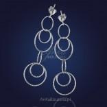 Kolczyki srebrne - ponadczasowe, zawsze modne kółka.