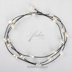 Naszyjnik/bransoletka z pereł - biżuteria na wiele sposobów.