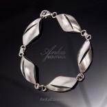 Srebrna biżuteria dla pań Bransoletka srebrna