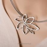 Biżuteria artystyczna Naszyjnik srebrny