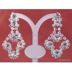 Komplet ślubny: kolczyki, naszyjnik, bransoletka - W stylu wiktoriańskim