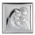 swieta Rodzina -obrazek srebrny -Wyjatkowy-na prezent- GRAWER