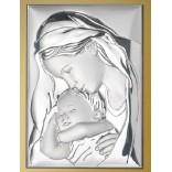 Maryja całująca w czoło śpiącego Jezusa - przepiękny obrazek z przesłaniem -Na prezent dla dziecka - GRAWER