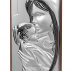 Maryja matka - całująca w czółko maleńkiego Jezusa 15*5,4 GRAWER