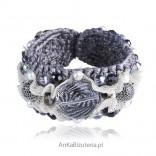 Elegancka bransoletka. Biżuteria autorska z kryształami Swarovskiego