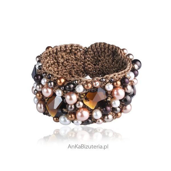 bransoletka z perłami dla kobiet