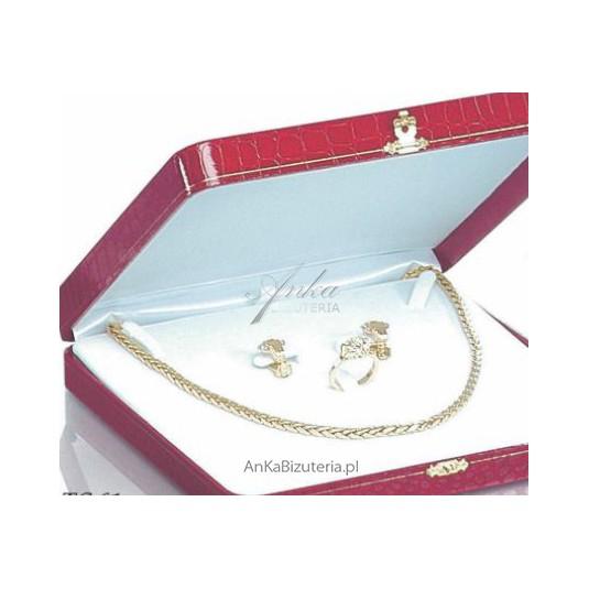 Eleganckie opakowanie ze skóry ekologicznej Na prezent do biżuterii