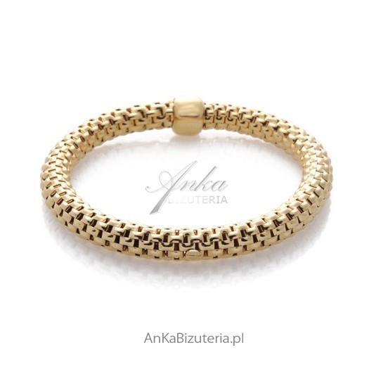 Bransoletka srebrna damska Exclusive biżuteria włoska