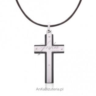 Krzyżyk srebrny Oryginalny
